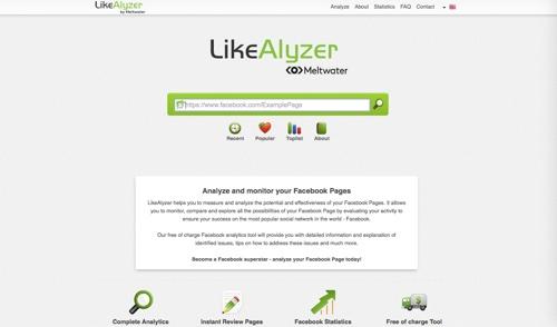 Công cụ LikeAlyzer để quản lý fanpage trên facebook
