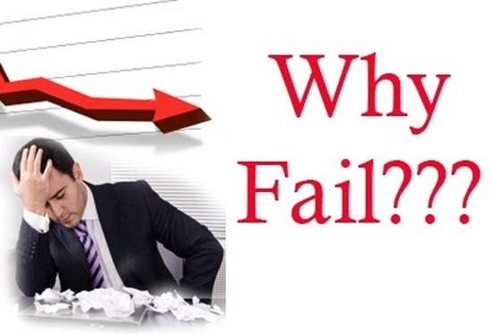 Lý do thất bại trong kinh doanh