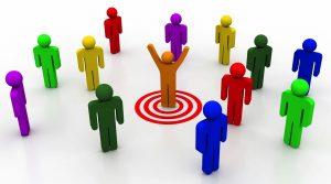 tiếp thị đúng đối tượng khách hàng