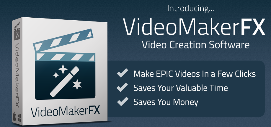 Phần mềm Video maker FX