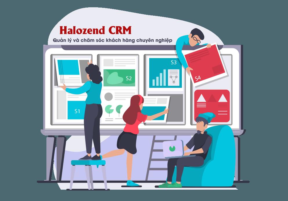 Phần mềm CRM - Quản lý khách hàng chuyên nghiệp